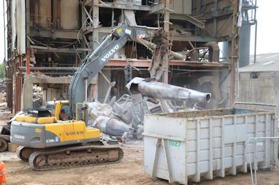 Tim Philpott Demolition (1) Scrap Processing