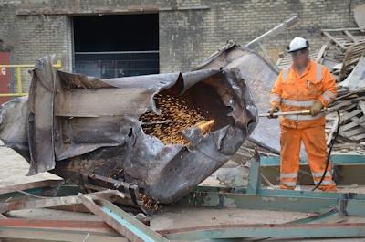 Tim Philpott Demolition (2) Scrap Processing