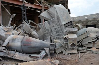 Tim Philpott Demolition (4) Scrap Processing